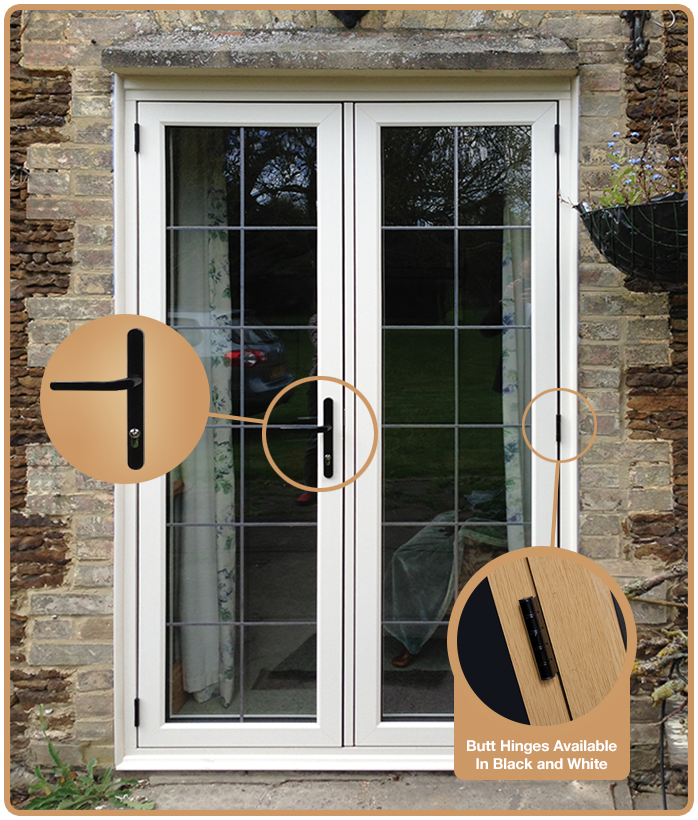 Handle & Timber Replacement Doors - Flush Fitting Timber Alternative Doors