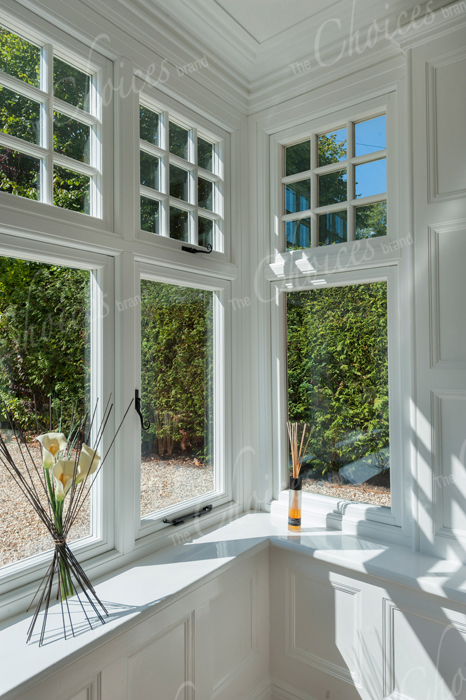 White timber alternative windows doors conservatories 28 for Windows doors and conservatories