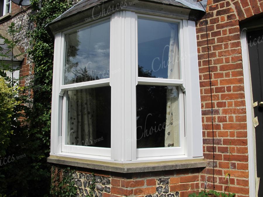 White timber alternative windows doors conservatories 41 for Windows doors and conservatories