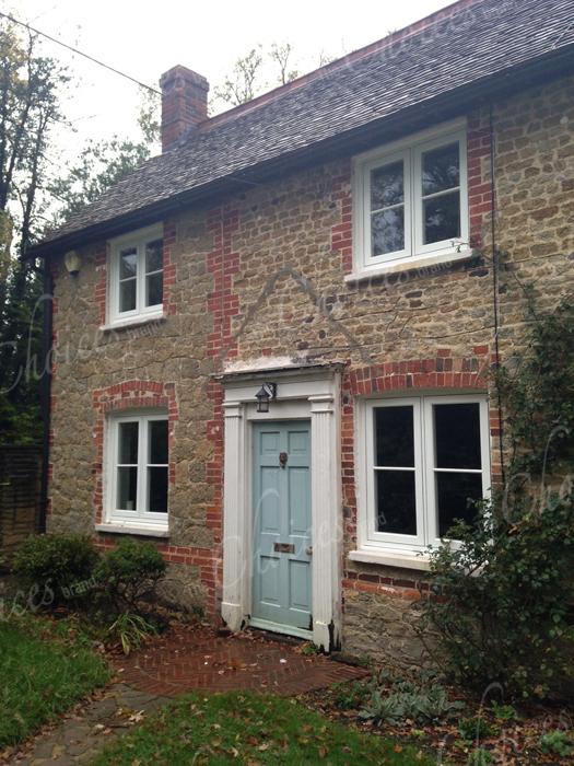 White timber alternative windows doors conservatories 77 for Windows doors and conservatories