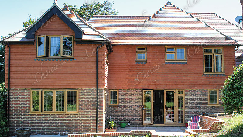 Timber Alternative Windows and doors from the Legacy range