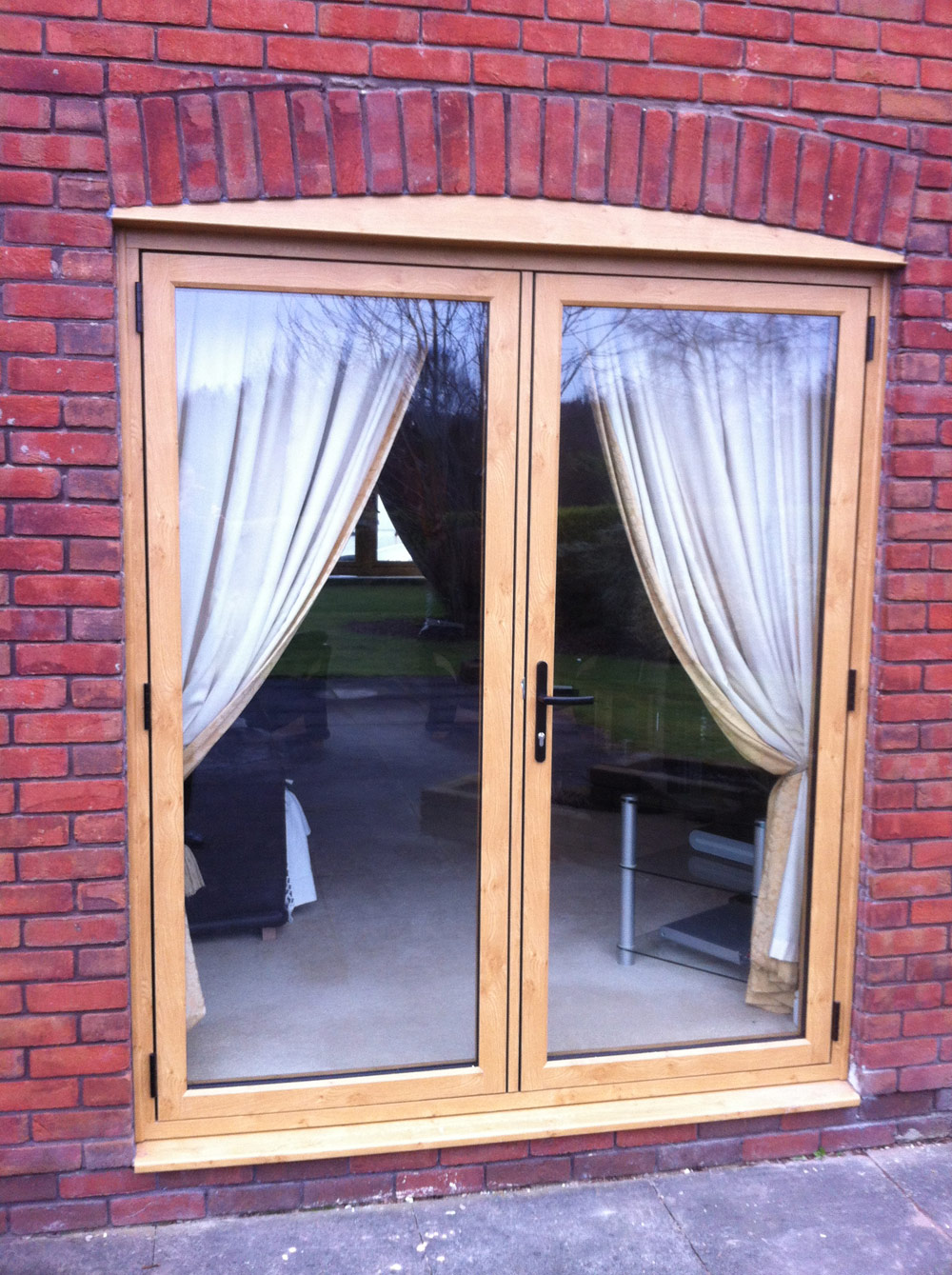 Residence 9 timber alternative french doors for Timber french doors