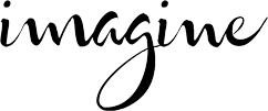 imagine logo black