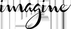 imagine logo black