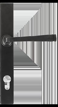 Exceptionnel Black Avon Slimline Handle