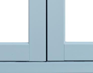 Zero Sightline Mullion on a Choices Alternative to Timber Window