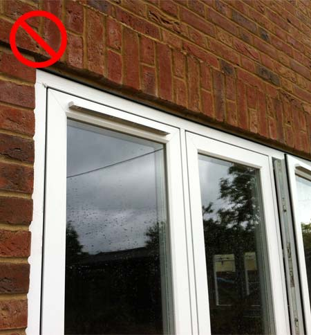 Concealed Trickle Vent Cover Aluminium Windows And Doors
