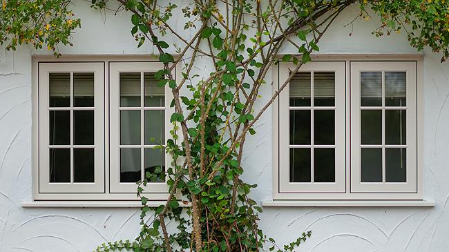 wooden alternative windows